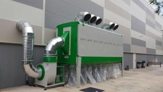 Odsávání pilin HOLZING RLA 1000 VIBER Power 43500 m3/h