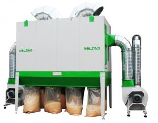 Odsávání pilin HOLZING RLA 600 VIBER Power 26100 m3/h