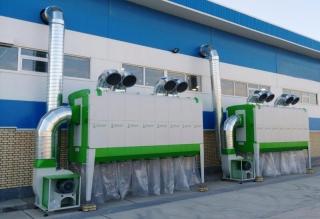 Odsávání pilin HOLZING RLA 800 VIBER Power 34800 m3/h