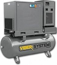Šroubový kompresor se sušičkou VIBER-SYSTEM 500l 5,5kW