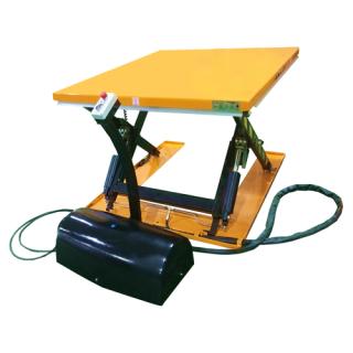 Elektrický nůžkový zvedák nízkoprofilový pracovní stůl SNN 1000
